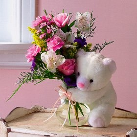 Mixed Flowers and Bear.jpg